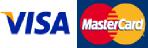 Visa and Mastercard Card Logos