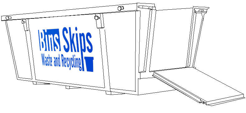 6 cubic meter skip bin